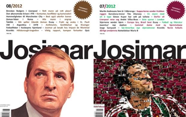 revista noruega josimar (Foto: Reprodução)