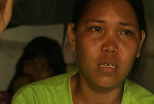 Lyn perdeu o pai na tragédia (Foto: BBC)