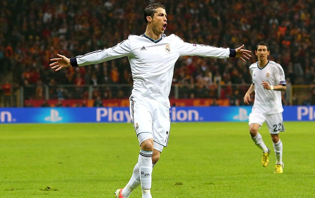 Cristiano Ronaldo gol Real Madrid Galatasaray (Foto: Getty Images)
