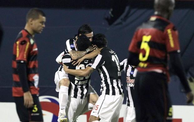 gol Libertad jogo Sport (Foto: EFE)
