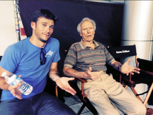 Scott e Clint Eastwood (Foto: Instagram)
