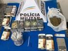 Mulher é detida com mais de 300 cigarros de maconha em Juiz de Fora