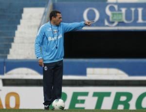 Vanderlei Luxemburgo, técnico do Grêmio (Foto: Diego Guichard/GLOBOESPORTE.COM)