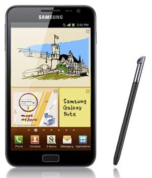 Galaxy Note, lançado no Brasil pela Samsung (Foto: Divulgação)