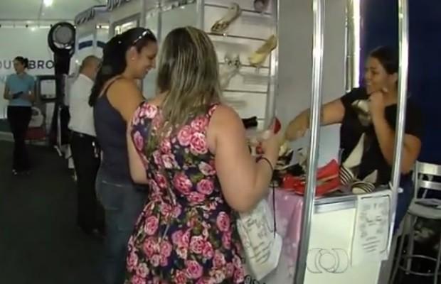 Pequenas empreendedores recebem dicas Goiânia Goiás (Foto: Reprodução/TV Anhanguera)