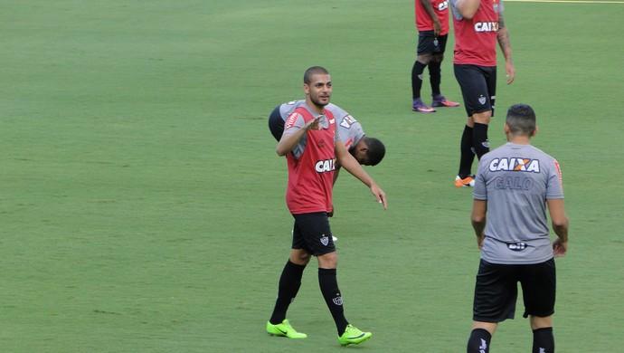 Clayton, atacante do Atlético-MG (Foto: Fernando Martins Y Miguel)