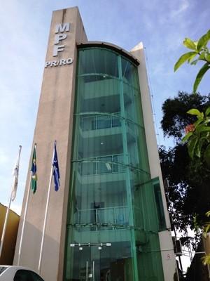Sede do MPF em Porto Velho (Foto: Vanessa Vasconcelos/G1)