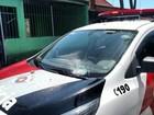 Duas viaturas da PM são alvo de vândalos na zona sul de São José, SP