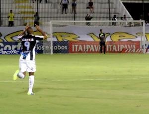 Rodrigo Silva - atacante do ABC (Foto: Carlos Arthur da Cruz/Globoesporte.com)