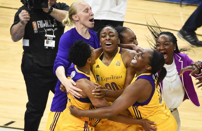 Los Angeles Sparks campeão WNBA (Foto: EFE)