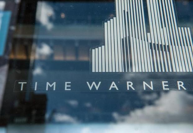 Fachada da Time Warner no centro da empresa em Nova York (Foto: Stephanie Keith/Reuters)