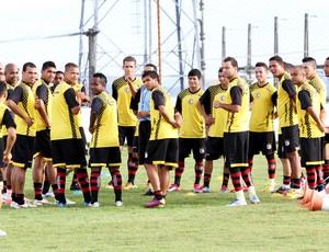 Campinense (treino) (Foto: Leonardo Silva / Jornal da Paraíba)