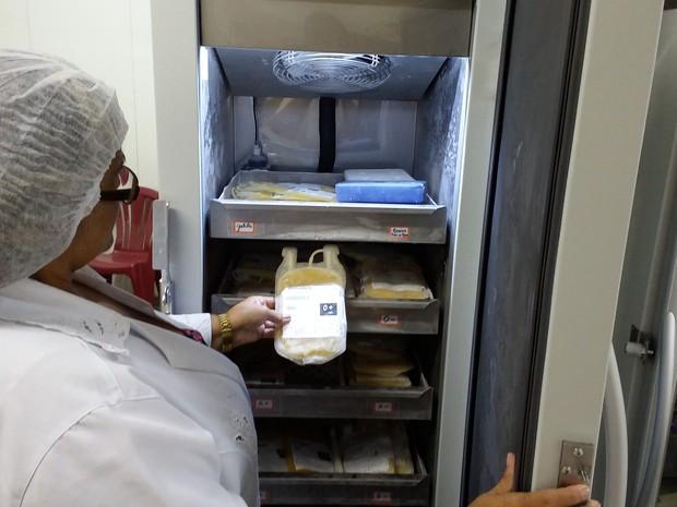 Para compra das máquinas da agência transfusional foram investidos mais de R$ 100 mil (Foto: Divulgação/Assessoria)