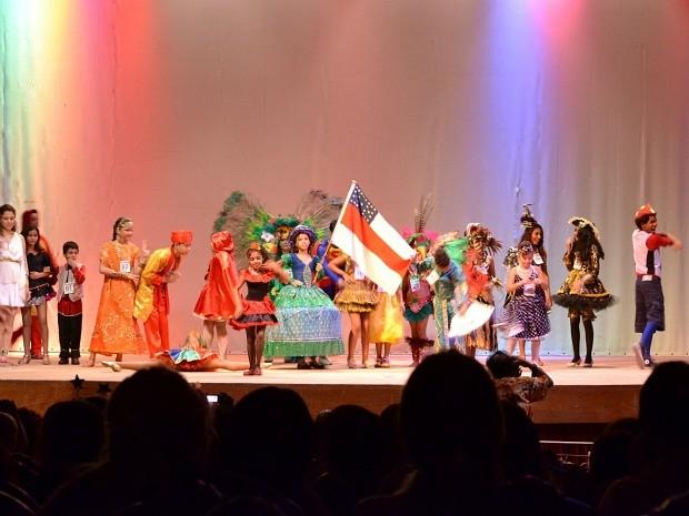 Concurso de fantasia infantil é realizado há nove anos em Manaus (Foto: Divulgação)