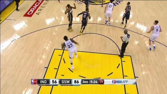 Fenomenal, Thompson marca 60 pontos, e Warriors sacodem Pacers