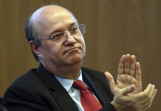 O presidente do Banco Central, Ilan Goldfajn, na abertura do Seminário de Inclusão Financeira (Foto: José Cruz/Agência Brasil)