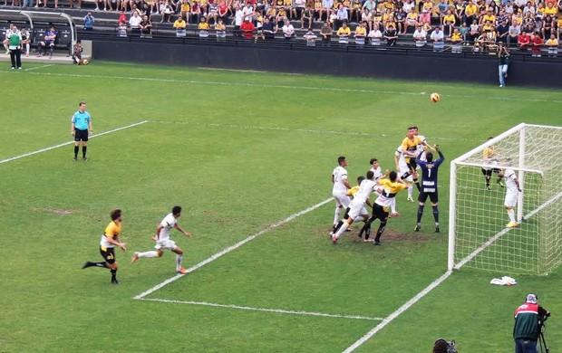 Criciúma x Santos; Copa do brasil sub-20 (Foto: João Lucas Cardoso)