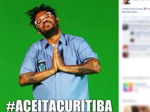 'O Explicador' lançou a campanha #aceitaCuritiba (Foto: Reprodução / Facebook)