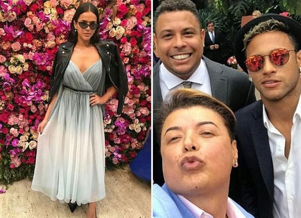 Neymar e Bruna Marquezine vão ao casamento de Marina Ruy Barbosa e Xandinho Negrão  (Foto: Reprodução)