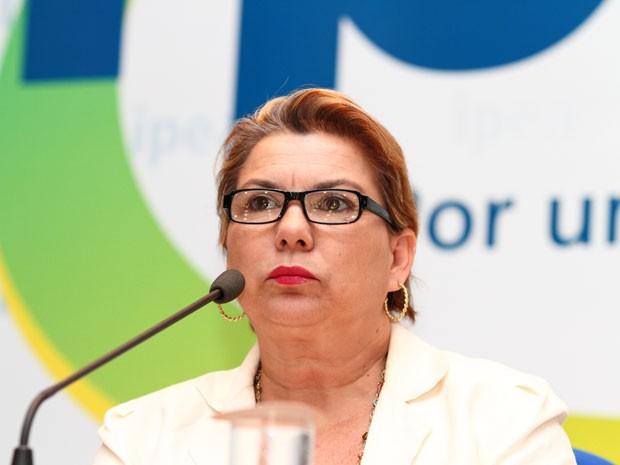 A presidente do Ipea, Vanessa Petrelli, foi escolhida pela ONU para integrar painel que vai criar Objetivos de Desenvolvimento Sustentável. (Foto: Ascom/Ipea)