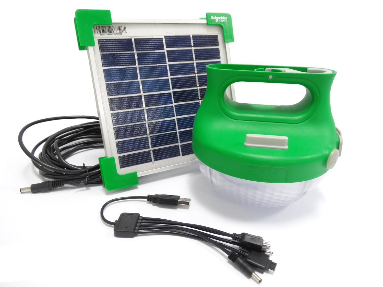 Lâmpada solar portátil Mobiya