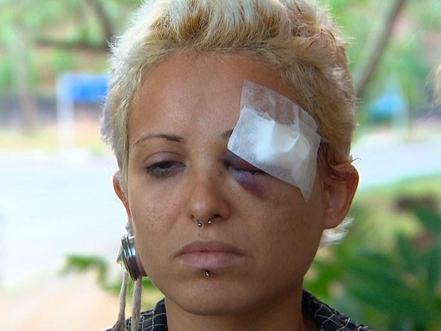 agressão (Foto: Imagem/TV Bahia)