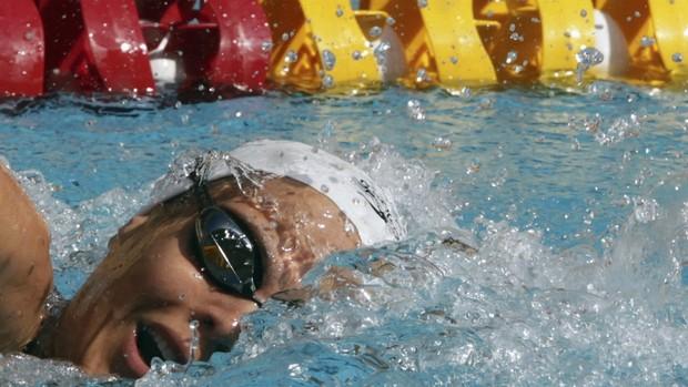 Laure Manaudou Maria Lenk natação (Foto: Reuters)