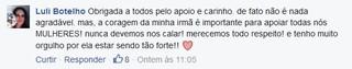 Luciana Botelho fala sobre relato de agressão da irmã, Luiza Brunet (Foto: Reprodução / Facebook)