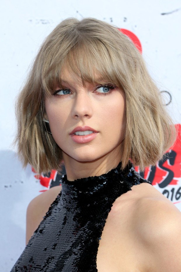 Cabelos Nude: Taylor Swift (Foto: Getty Images)