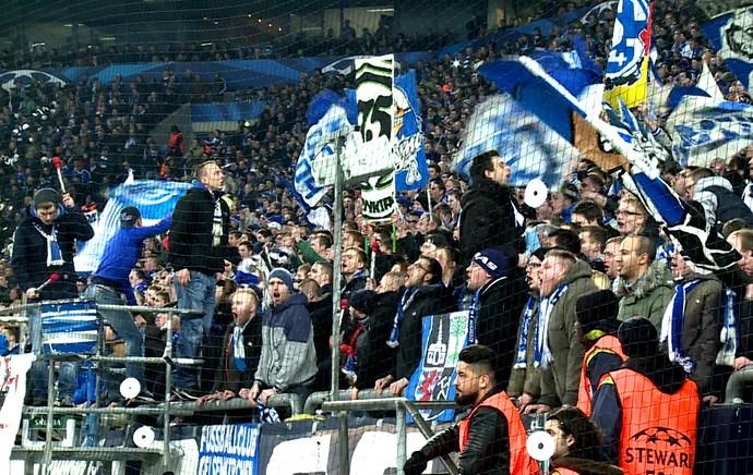 torcida Schalke x real madrid (Foto: Cassio Barco)