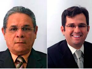 Jean Valério e Bosco Afonso pediram exoneração em caráter irrevogável (Foto: Ricardo Araújo/G1)