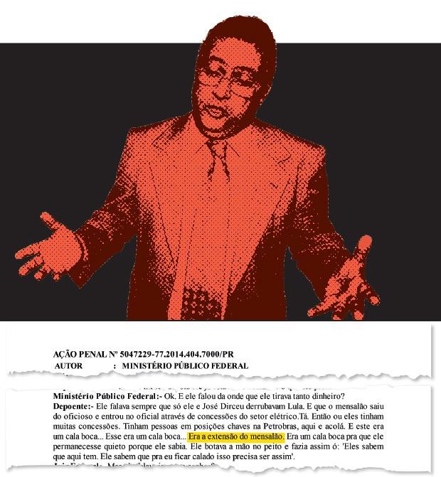 ELO O ex-deputado José Janene, que morreu em 2010.  Em depoimento,  o empresário Hermes Magnus afirma que  o esquema de propina da Petrobras foi  uma