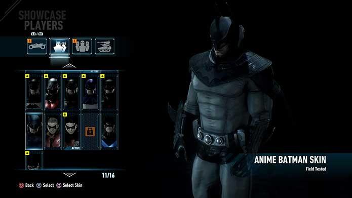Batman dos animes (Foto: Reprodução/Felipe Vinha)