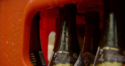 bebida tem santo padroeiro (TV Globo)