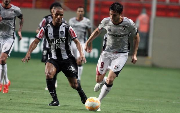 Atlético-MG x Atlas - lance de jogo (Foto: EFE)