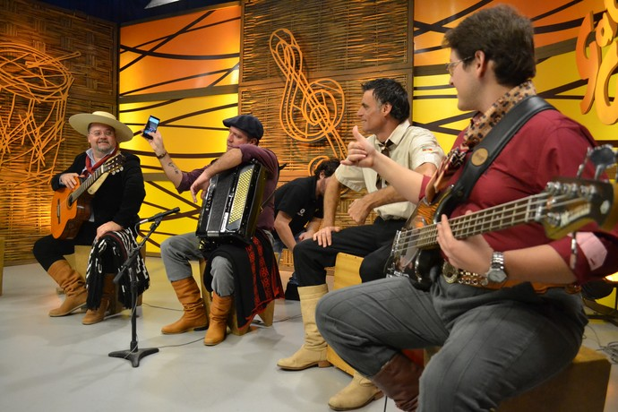 Ricardo Portto Galpão Crioulo (Foto: Maicon Hinrichsen/RBS TV)