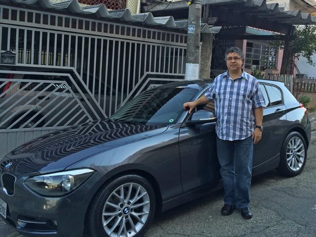 Wagner Lodos, que comprou uma BMW 118i utilizando o servilo de empresas especializadas (Foto: Arquivo Pessoal)