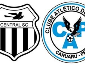 escudos central e porto-pe (Foto: Reprodução / clubes)