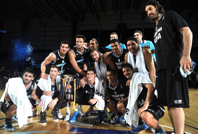 Basquete, Argentina Torneio das Nações (Foto: Agência EFE)