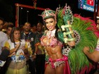 'Estava insegura', diz Gracyanne sobre duas baterias na Mangueira