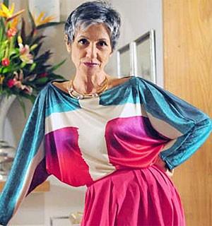 Figurino ousado de Melissa inspira Cassia Kis Magro na vida real (Amor Eterno Amor/TV Globo)