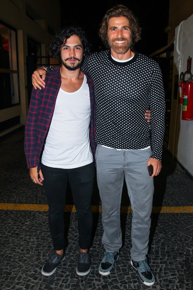 Reynaldo Gianecchini e Gabriel Leone (Foto: Manuela Scarpa/Brazil News)