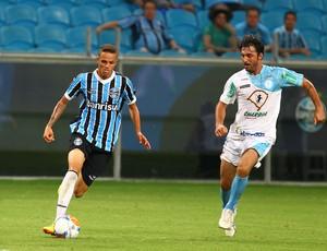 Luan contra o Lajeadense (Foto: Lucas Uebel/Grêmio, DVG)