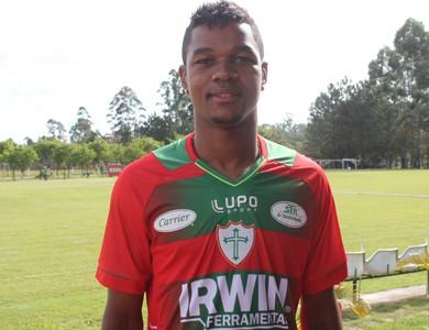 Romão, jogador da Portuguesa (Foto: Divulgação/Site oficial)