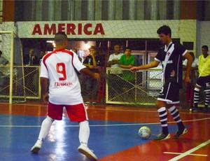 Vasco/Tamoyo x América - Carioca de futsal (Foto: Léo Borges)