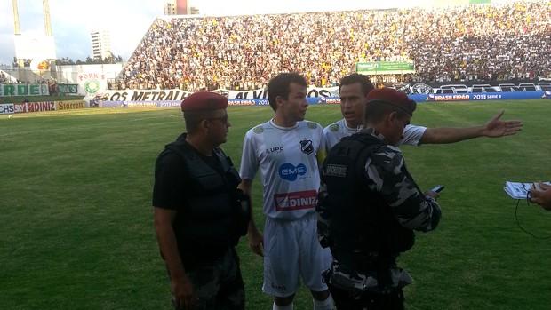 Daniel Paulista ABC x Palmeiras (Foto: Marcelo Hazan)