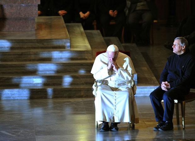 Papa francisco (Foto: TIZIANA FABI / AFP)