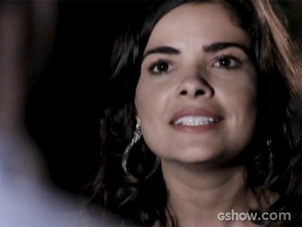 Aline xinga César na cara de Félix (Foto: Amor à Vida/TV Globo)