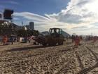 Comlurb remove mais de 600 toneladas de lixo das festas do Rio