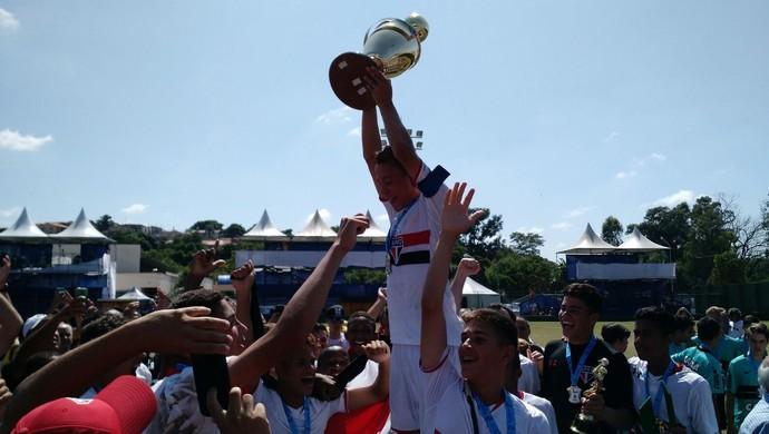 Votorantim, Copa Brasil de Futebol Infantil, estádio Domênico Paolo Metidieri, São Paulo, Coritiba, São Paulo Campeão (Foto: Emilio Botta)